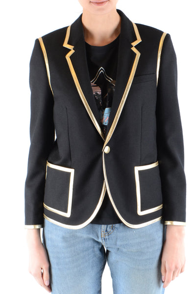 Jacket Saint Laurent-Jacket - WOMAN-Product Details Made In: ItalyTerms: New With LabelMain Color: BlackGender: WomanYear: 2018Manufacturer Part Number: 515627/Y221W1000Size: FrSeason: Fall / WinterClothing Type: JacketComposition: Wool 100%-Keyomi-Sook