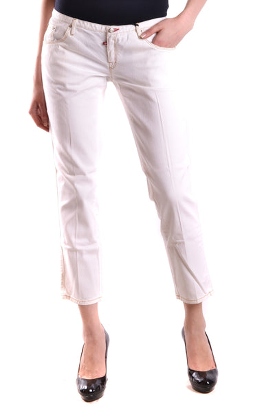 Jeans Dsquared-Jeans - WOMAN-42-Product Details Terms: New With LabelYear: 2017Main Color: WhiteGender: WomanMade In: ItalySize: ItSeason: Spring / SummerClothing Type: JeansComposition: Cotton 98%, Elastane 2%-Keyomi-Sook