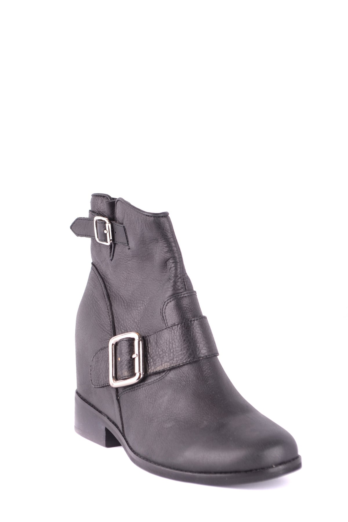Shoes Jeffrey Campbell-Bootie - WOMAN-Product Details Type Of Accessory: ShoesTerms: New With LabelYear: 2017Main Color: BlackSeason: Fall / WinterMade In: ChinaSize: EuGender: WomanComposition: Leather 100%-Keyomi-Sook