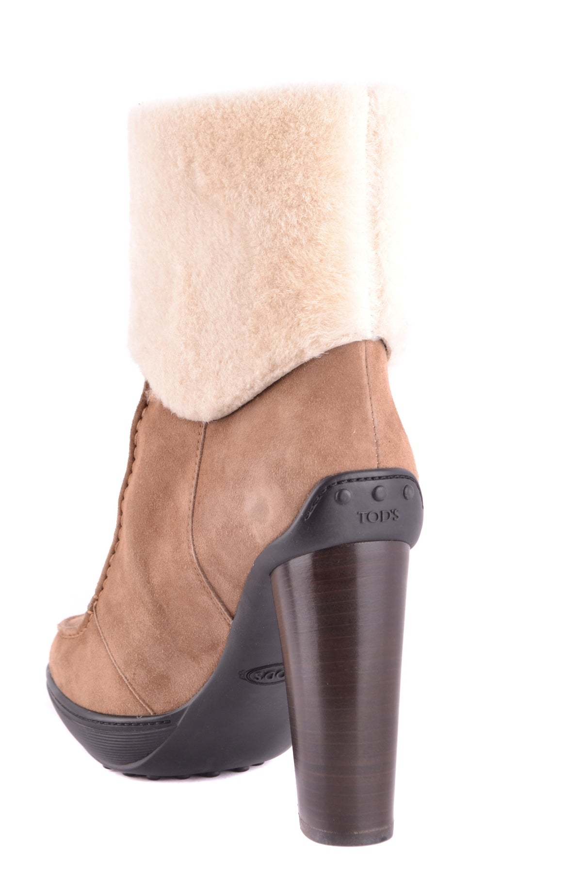 Shoes Tod'S-Boots with fur - WOMAN-Product Details Type Of Accessory: ShoesTerms: New With LabelYear: 2017Main Color: MarrónGender: WomanMade In: ItalySize: EuSeason: Fall / WinterComposition: Leather 100%-Keyomi-Sook