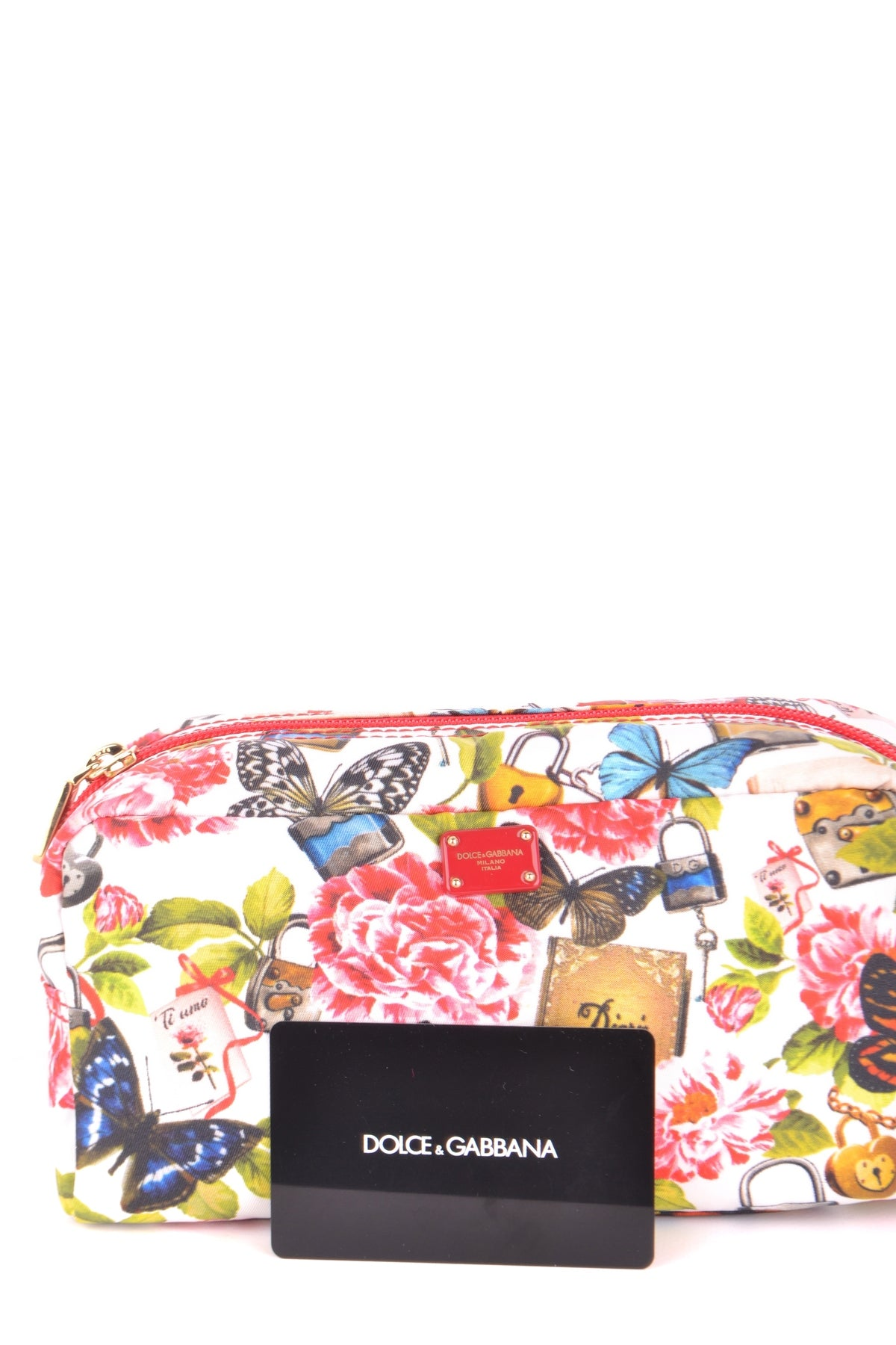 Bag Dolce & Gabbana-Bags - WOMAN-Product Details Type Of Accessory: Beauty CaseSeason: Spring / SummerMade In: ItalyTerms: New With LabelMain Color: MulticolorGender: WomanYear: 2018Manufacturer Part Number: Bi0932 0116 0933192962937012Size: IntBag Wxhxd (Cm): 20X11X8Composition: Polyamide 100%-Keyomi-Sook