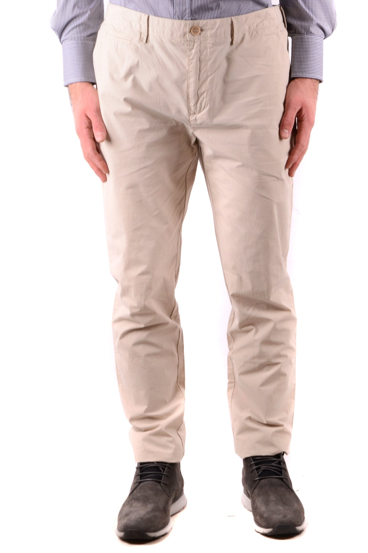 Trousers Burberry-Trousers - MAN-31-Product Details Season: Spring / SummerTerms: New With LabelMain Color: BeigeGender: ManMade In: ThailandManufacturer Part Number: 4011597 1010Size: UsYear: 2018Clothing Type: TrousersComposition: Cotton 100%-Keyomi-Sook