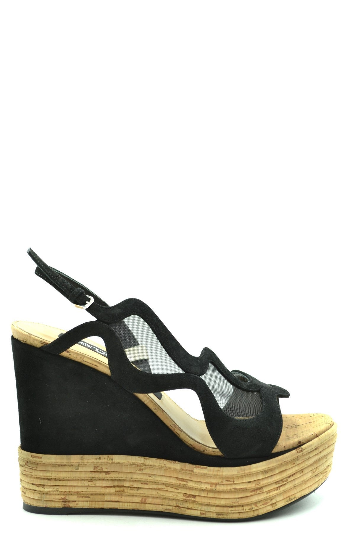 Shoes Sergio Rossi-Women's Fashion - Women's Shoes - Women's Sandals-38-Product Details Terms: New With LabelMain Color: BlackType Of Accessory: ShoesSeason: Spring / SummerMade In: ItalyGender: WomanPlatform'S Height: 4 CmHeel'S Height: 13 CmSize: EuComposition: Suede 100%Year: 2020Manufacturer Part Number: A89160-Keyomi-Sook