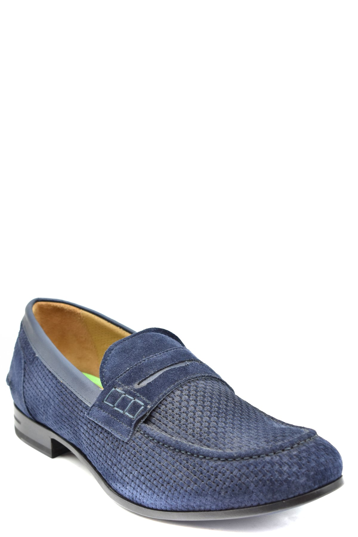 Shoes Brimarts-Men's Fashion - Men's Shoes - Loafers-Product Details Terms: New With LabelMain Color: BlueType Of Accessory: ShoesSeason: Fall / WinterMade In: ItalyGender: ManSize: EuComposition: Chamois 100%Year: 2019Manufacturer Part Number: 315190N-Keyomi-Sook