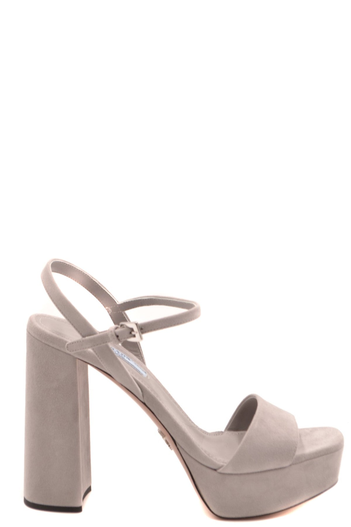 Shoes Prada-Women's Fashion - Women's Shoes - Women's Sandals-36.5-Product Details Terms: New With LabelMain Color: GrayType Of Accessory: ShoesSeason: Spring / SummerMade In: ItalyGender: WomanHeel'S Height: 12Size: EuComposition: Chamois 100%Year: 2020Manufacturer Part Number: 1Xp75A 008 F0424-Keyomi-Sook
