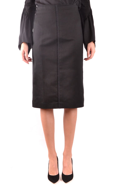Skirt Fendi-Skirts - WOMAN-40-Product Details Terms: New With LabelYear: 2018Main Color: BlackGender: WomanMade In: TurkeyManufacturer Part Number: Fq6734/ A1Urf0GmeSize: ItSeason: Spring / SummerClothing Type: SkirtComposition: Cotton 100%-Keyomi-Sook