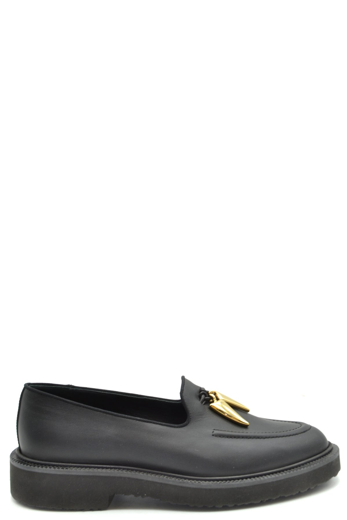 Shoes Giuseppe Zanotti-Classic flats - WOMAN-36.5-Product Details Type Of Accessory: ShoesTerms: New With LabelYear: 2018Main Color: BlackGender: WomanMade In: ItalyManufacturer Part Number: I860025Size: EuSeason: Fall / WinterComposition: Leather 100%-Keyomi-Sook
