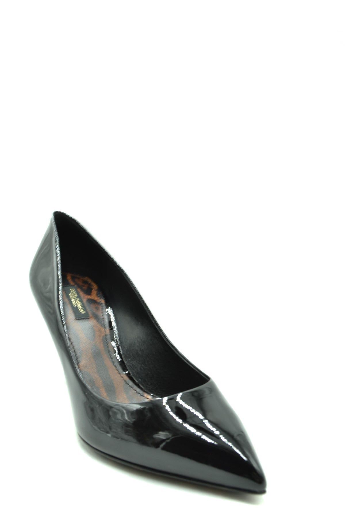 Shoes Dolce & Gabbana--Product Details Terms: New With LabelMain Color: BlackType Of Accessory: ShoesSeason: Fall / WinterMade In: ItalyGender: WomanHeel'S Height: 8Size: EuComposition: Leather 100%Year: 2020Manufacturer Part Number: Cd0685 Ac062 80999-Keyomi-Sook