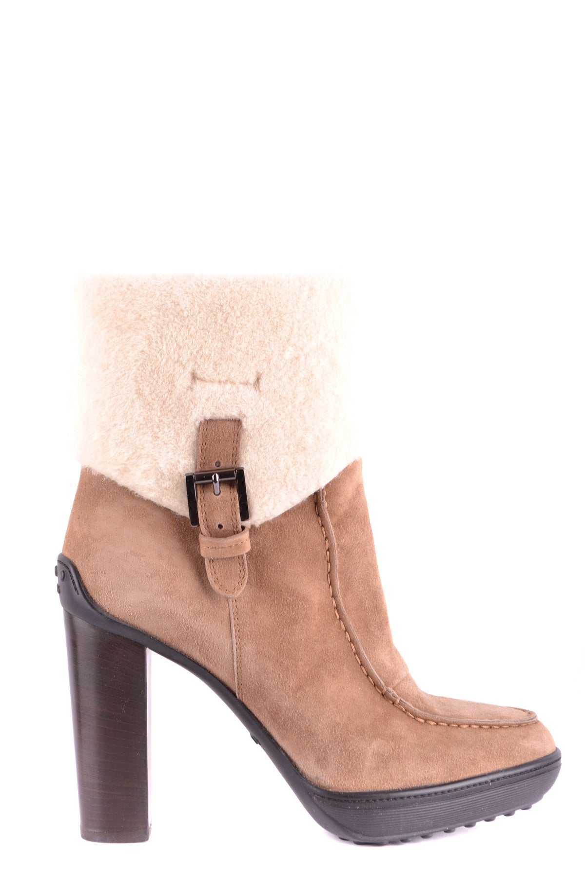 Shoes Tod'S-Boots with fur - WOMAN-37-Product Details Type Of Accessory: ShoesTerms: New With LabelYear: 2017Main Color: MarrónGender: WomanMade In: ItalySize: EuSeason: Fall / WinterComposition: Leather 100%-Keyomi-Sook