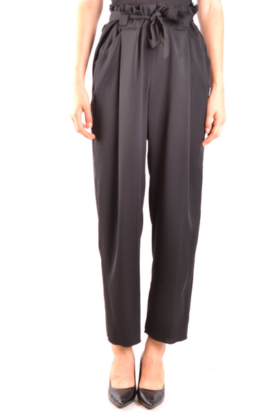 Trousers Armani Collezioni-Trousers - WOMAN-Product Details Season: Fall / WinterTerms: New With LabelMain Color: BlackGender: WomanMade In: RomaniaManufacturer Part Number: Vmp22T Vm312Size: ItYear: 2018Clothing Type: TrousersComposition: Elastane 6%, Silk 94%-Keyomi-Sook