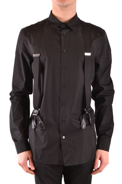 Shirt Moschino-Shirts - MAN-39-Product Details Season: Spring / SummerTerms: New With LabelMain Color: BlackGender: ManMade In: PortugalManufacturer Part Number: Z A0202Size: Collar SizeYear: 2018Clothing Type: CamiciaComposition: Cotton 100%-Keyomi-Sook