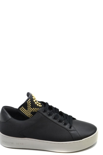 Shoes Michael Kors-root - Women - Shoes - Sneakers-5-Product Details Manufacturer Part Number: 43T9Mnfs1DComposition: Leather 100%Size: UsGender: WomanMade In: CambodiaSeason: Spring / SummerType Of Accessory: ShoesMain Color: BlackTerms: New With LabelYear: 2020-Keyomi-Sook