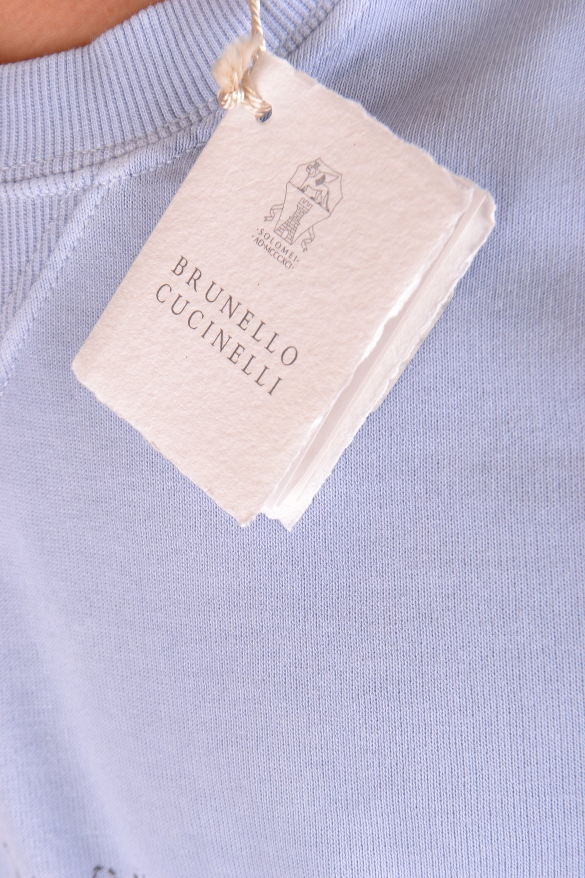 Sweater Brunello Cucinelli-Sweater - MAN-Product Details Season: Spring / SummerTerms: New With LabelMain Color: BlueGender: ManMade In: ItalyManufacturer Part Number: Mtt343560 Ck694Size: IntYear: 2018Clothing Type: Sweater Composition: Cotton 100%-Keyomi-Sook