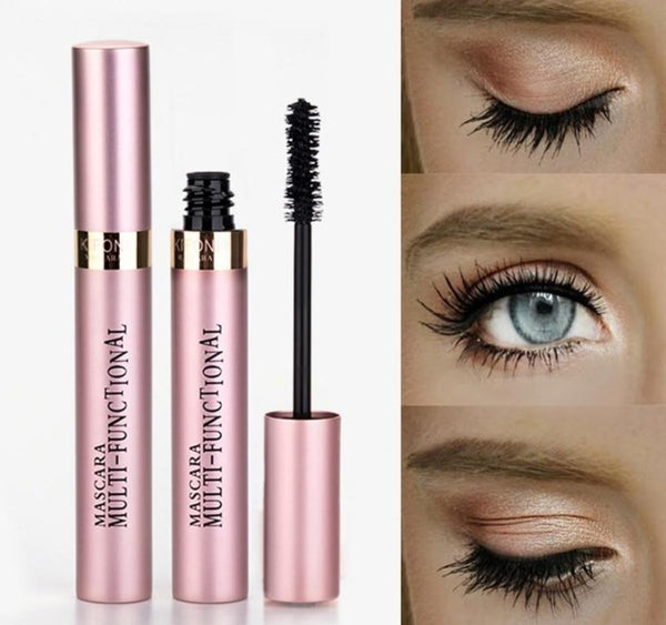 4D Lash Mascara-Beauty Shop-Product Detail: Makeup 4D Silk Fiber Lash Mascara Waterproof Like Rimel Mascara Eyelash Extension Black Thick Lengthening Eye Lashes Cosmetics-Keyomi-Sook