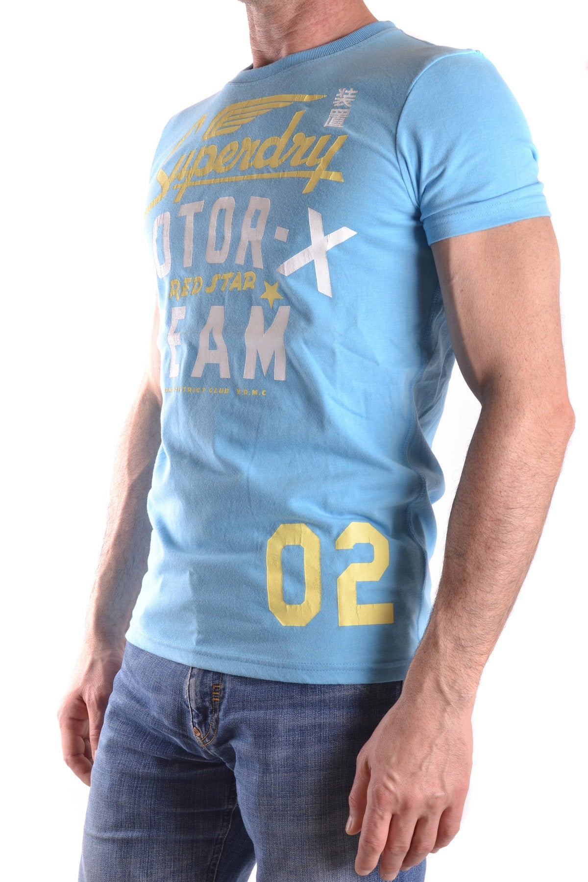 T-Shirt Superdry-Men's Fashion - Men's Clothing - Tops & Tees - T-Shirts-Product Details Composition: Cotton 65%, Polyester 35%Size: IntGender: ManMade In: TurcheySeason: Spring / SummerMain Color: HeavenlyClothing Type: T-ShirtTerms: New With LabelYear: 2017-Keyomi-Sook
