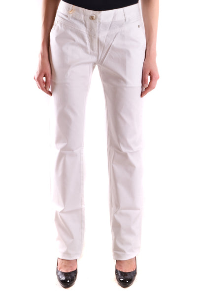 Trousers Class Cavalli-Trousers - WOMAN-Product Details Terms: New With LabelMain Color: WhiteGender: WomanYear: 2017Size: ItSeason: Spring / SummerClothing Type: TrousersComposition: Cotton 96%, Elastane 4%-Keyomi-Sook