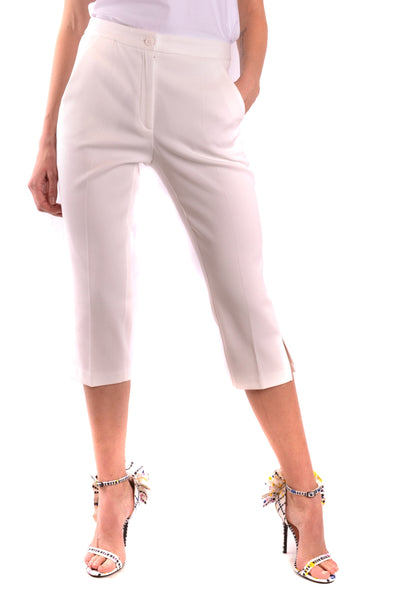 Trousers Moschino-Trousers - WOMAN-40-Product Details Season: Spring / SummerTerms: New With LabelMain Color: WhiteGender: WomanMade In: ItalyManufacturer Part Number: H A0310Size: ItYear: 2018Clothing Type: TrousersComposition: Cotton 98%, Elastane 2%-Keyomi-Sook