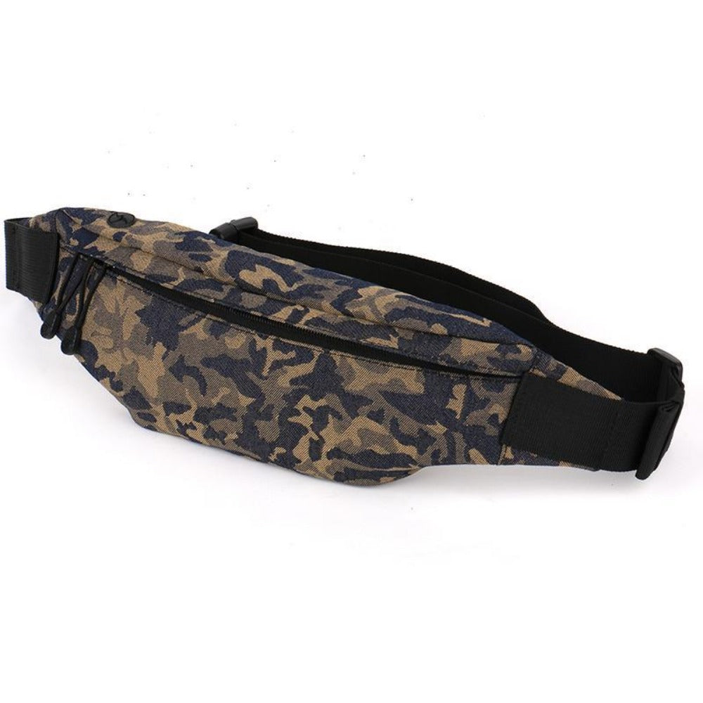 Camouflage Waist Bag Running Belt Purse-root - Men - Bags - Other-Product Details: Camouflage Fanny Pack Waist Bag Running Belt Purse Dimensions:-Keyomi-Sook