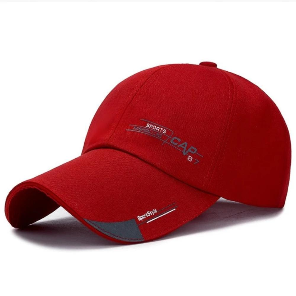 Men & Women's Multicolor Baseball Cap-Men's Baseball Cap-cap006-red-Product Details: Men & Women's Grinding Multicolor Fitted Cotton Baseball Cap Item Type: Baseball Caps Material: Cotton, Acrylic Hat Size: One Size Style: Casual Pattern Type: Animal Strap Type: Adjustable Color: 51 Colors Optional Cap Circumference: Adjustable / 54 - 62 cm Weight: 90 g-Keyomi-Sook