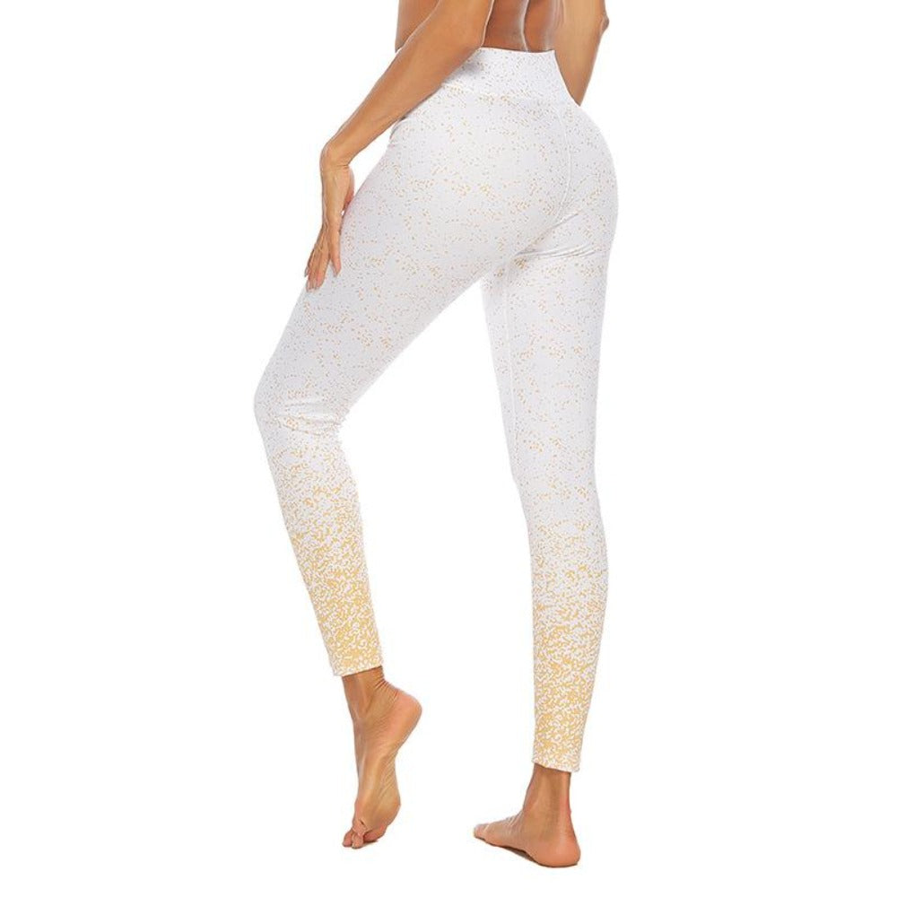 Women'S Knitted Ankle-Length High Waist Leggings-Women - Apparel - Activewear - Leggings-S-White-Product Details: Women's Knitted Ankle-Length High Waist Fitness Leggings Item Type: Leggings Material: Polyester, Spandex Pattern Type: Dot Waist Type: High Fabric Type: Knitted Length: Ankle-Length Thickness: Standard Style: Casual Size Chart:-Keyomi-Sook
