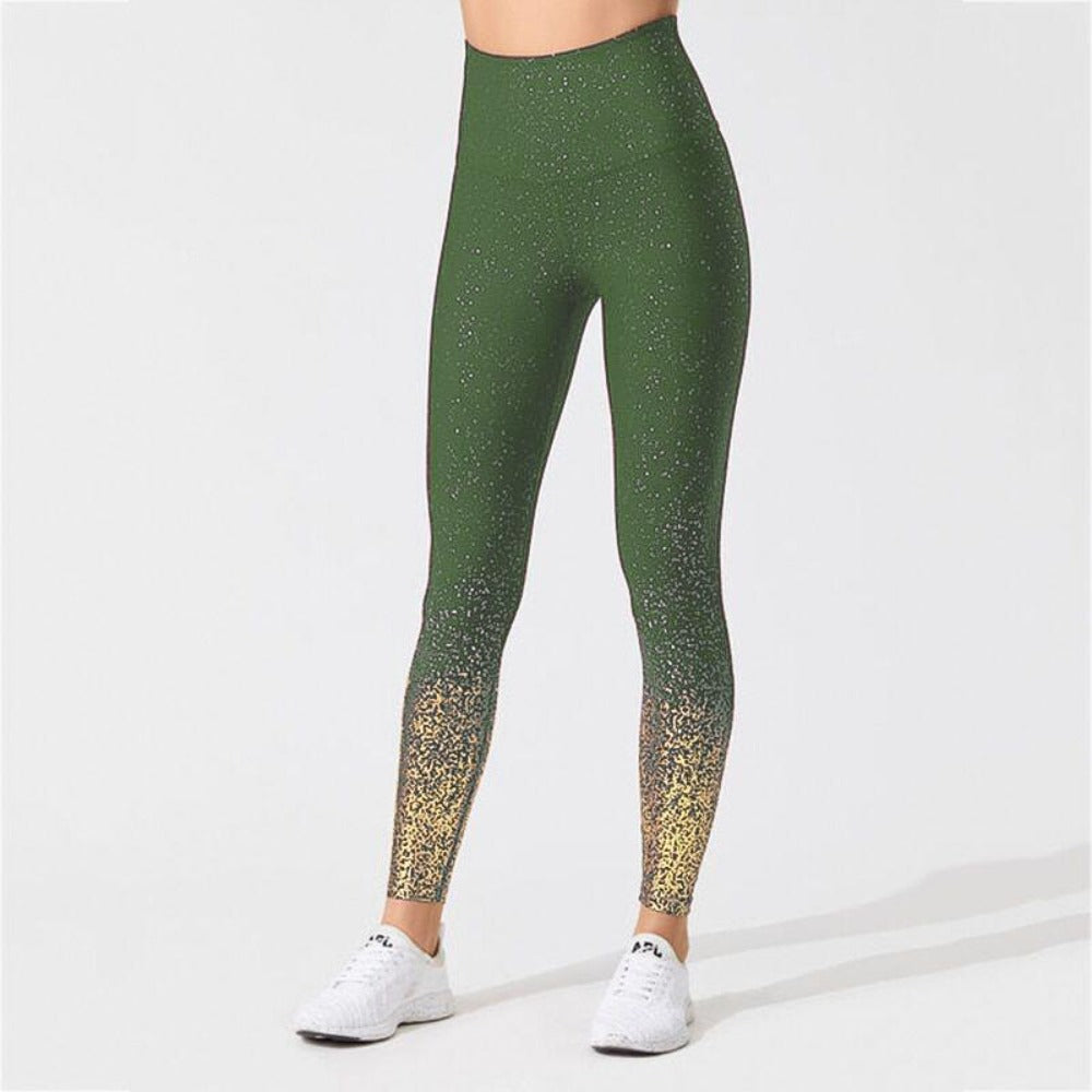 Women'S Knitted Ankle-Length High Waist Leggings-Women - Apparel - Activewear - Leggings-S-Green-Product Details: Women's Knitted Ankle-Length High Waist Fitness Leggings Item Type: Leggings Material: Polyester, Spandex Pattern Type: Dot Waist Type: High Fabric Type: Knitted Length: Ankle-Length Thickness: Standard Style: Casual Size Chart:-Keyomi-Sook