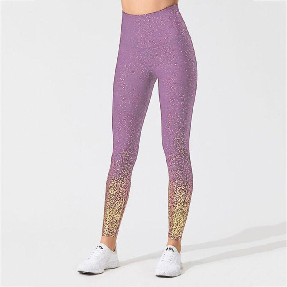 Women'S Knitted Ankle-Length High Waist Leggings-Women - Apparel - Activewear - Leggings-S-Purple-Product Details: Women's Knitted Ankle-Length High Waist Fitness Leggings Item Type: Leggings Material: Polyester, Spandex Pattern Type: Dot Waist Type: High Fabric Type: Knitted Length: Ankle-Length Thickness: Standard Style: Casual Size Chart:-Keyomi-Sook