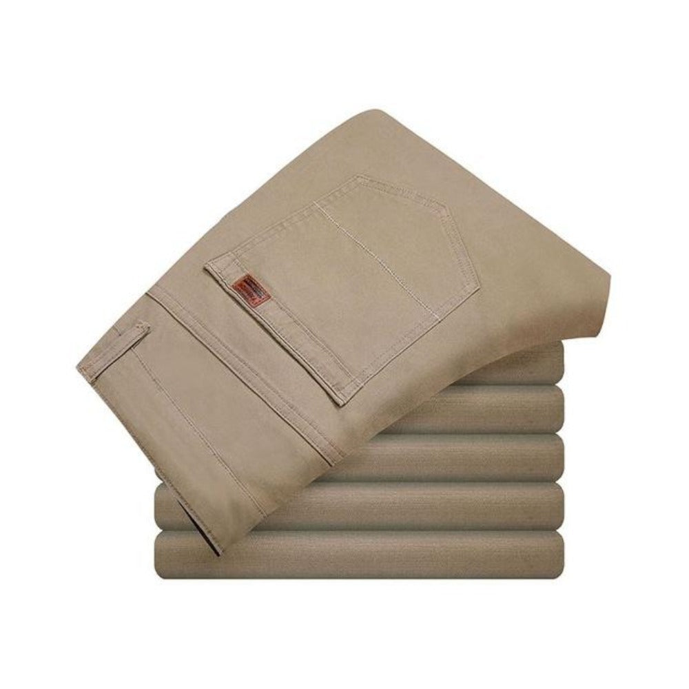 Men's Elastic Skinny Slim Cutting Trouser-Mens Pants and Shorts-khaki-29-Product Details: Men's High Stretch Elastic Skinny Slim Cutting Trouser Item Type: Full Length Pant Style: Straight Style: Casual Fit Type: Skinny Material: Polyester, Spandex, Cotton Waist Type: Mid Length: Full Length Thickness: Midweight Front Style: Flat Fabric Type: Twill Closure Type: Zipper Fly Size Chart:-Keyomi-Sook
