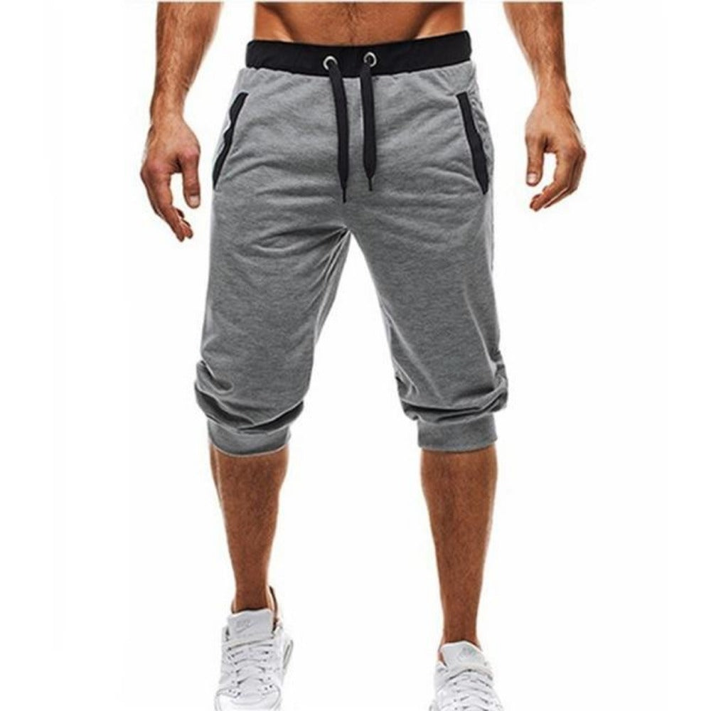 Men's Sports Fitness Bodybuilding Sweatpants-Men's Athletic Wear-light grey-M-Product Details: Men's Profession Sports Fitness Bodybuilding Sweatpants Material: Polyester Size Chart:-Keyomi-Sook