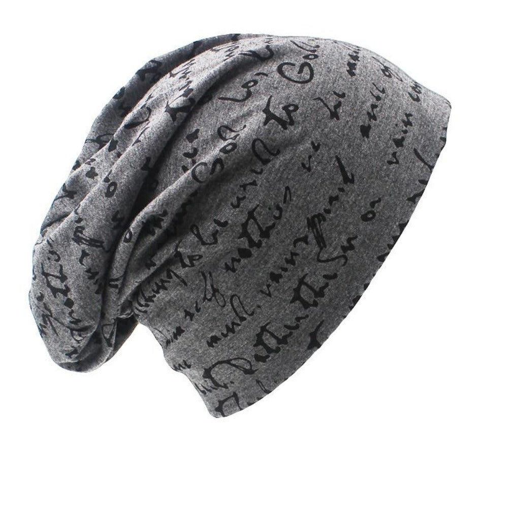 Men & Women'S Autumn Winter Hat-Men's Hats-Dark grey-Product Details: Men & Women's Autumn Winter Fashion Hat Material: 65% Polyester, 35% Cotton Gender: Unisex Dimensions: Hat Circumference: 55-65 cm Hat Weight: About 55 g-Keyomi-Sook