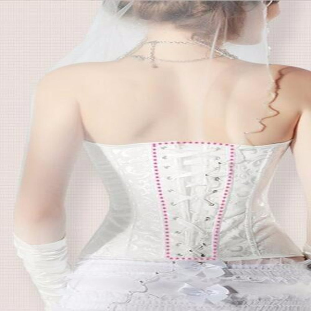 Women's Waist Shaper Corset-Discrètes-Product Details: Women's Waist Trainer Strap Belt Slimming Shaper Corset Item Type: Shapers Material: Polyester Control Level: Firm Shape wear: Waist Cinchers Fabric Type: Broadcloth Thickness: Thin Size Chart:-Keyomi-Sook