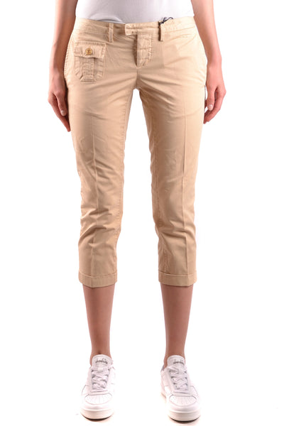 Trousers Dsquared-Trousers - WOMAN-40-Product Details Terms: New With LabelYear: 2017Main Color: BeigeGender: WomanMade In: ItalySize: ItSeason: Spring / SummerClothing Type: TrousersComposition: Cotton 100%-Keyomi-Sook