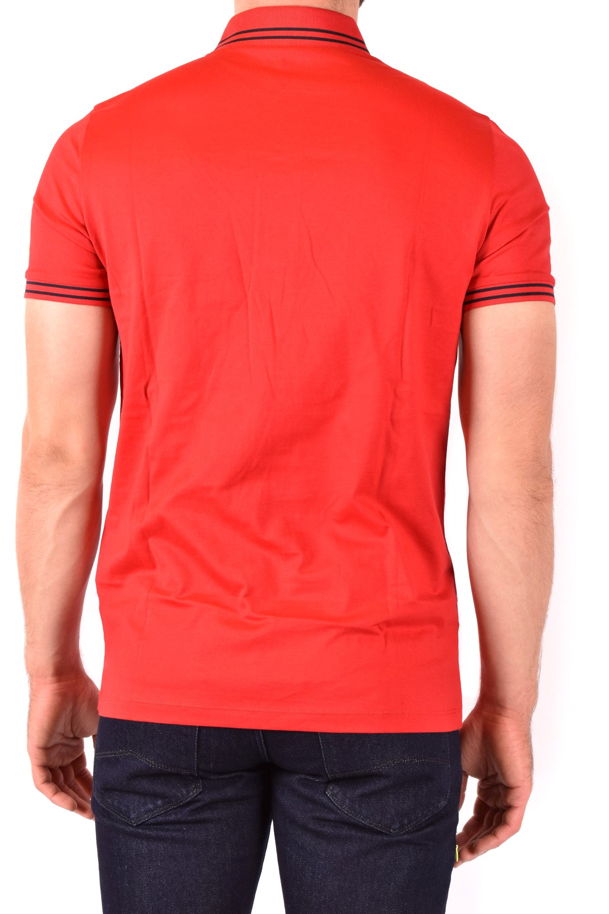 Polo Emporio Armani-Men's Fashion - Men's Clothing - Tops & Tees - Polo-Product Details Terms: New With LabelClothing Type: PoleMain Color: RedSeason: Spring / SummerMade In: VietnamGender: ManSize: IntComposition: Cotton 100%Year: 2020Manufacturer Part Number: 3H1Fn4 1Jcqz F320-Keyomi-Sook