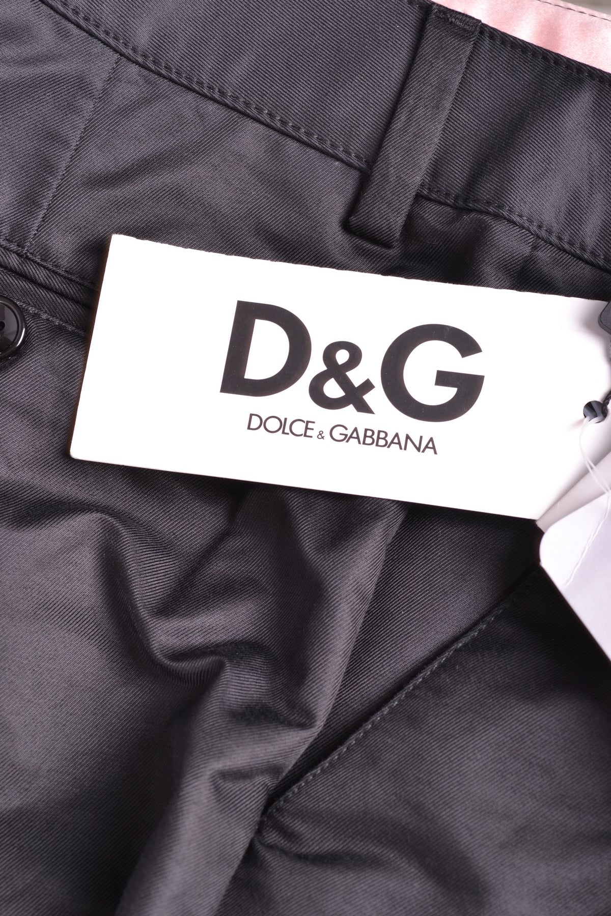 Trousers D&G Dolce & Gabbana-Trousers - WOMAN-Product Details Terms: New With LabelYear: 2017Main Color: BlackGender: WomanMade In: TunisiaSize: ItSeason: Spring / SummerClothing Type: TrousersComposition: Cotton 73%, Polyamide 27%-Keyomi-Sook