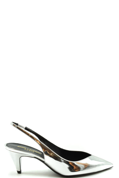 Shoes Saint Laurent-Women's Fashion - Women's Shoes - Women's Sandals-36-Product Details Terms: New With LabelMain Color: SilverType Of Accessory: ShoesSeason: Spring / SummerMade In: ItalyGender: WomanHeel'S Height: 4 Cm Size: EuComposition: Leather 100%Year: 2020Manufacturer Part Number: 602632 Aal00 8105-Keyomi-Sook