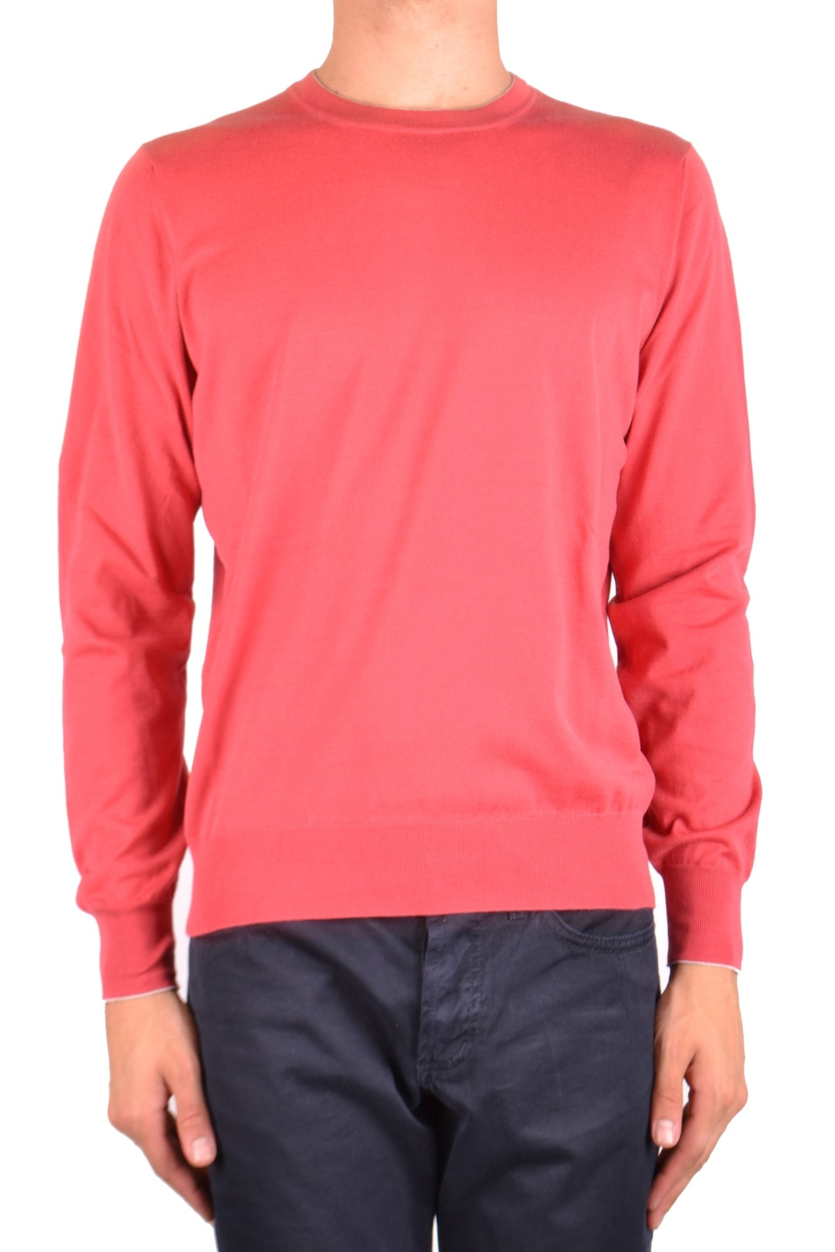 Sweater Brunello Cucinelli-Sweater - MAN-48-Product Details Terms: New With LabelYear: 2018Main Color: RedGender: ManMade In: ItalyManufacturer Part Number: M2900100Size: ItSeason: Spring / SummerClothing Type: Sweater Composition: Cotton 100%-Keyomi-Sook