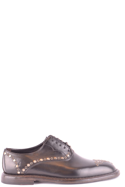 Shoes Dolce & Gabbana-Classic flats - Shoes-40-Product Details Type Of Accessory: ShoesSeason: Fall / WinterTerms: New With LabelMain Color: BlackGender: ManMade In: ItalyManufacturer Part Number: A20020 A1828 80999Size: EuYear: 2018Composition: Leather 100%-Keyomi-Sook