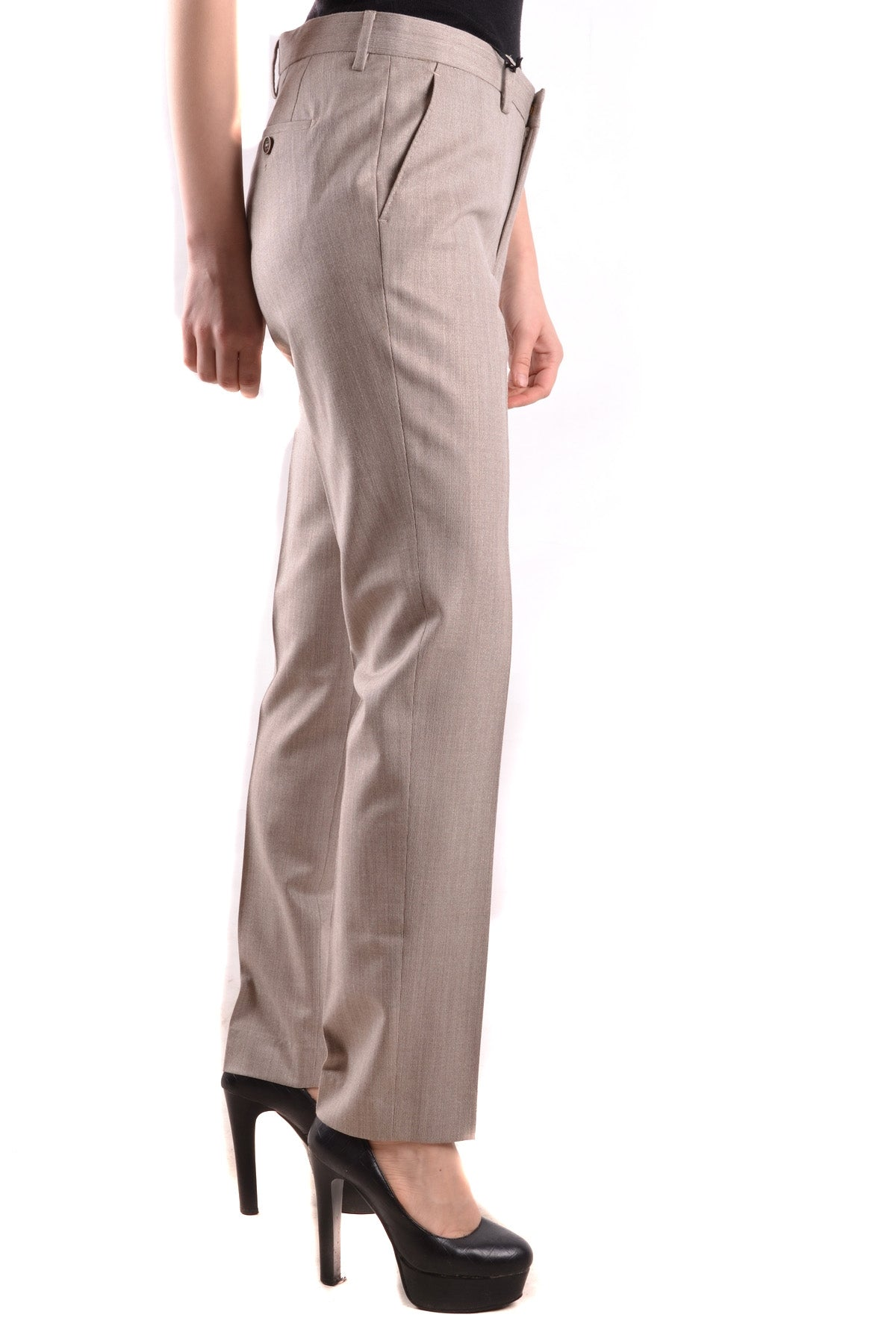 Trousers Pt01/Pt05-Trousers - WOMAN-Product Details Terms: New With LabelYear: 2017Main Color: BeigeSeason: Fall / WinterMade In: ItalySize: ItGender: WomanComposition: Elastane 5%, Wool 84%, Polyester 3%, Viscose 8%-Keyomi-Sook