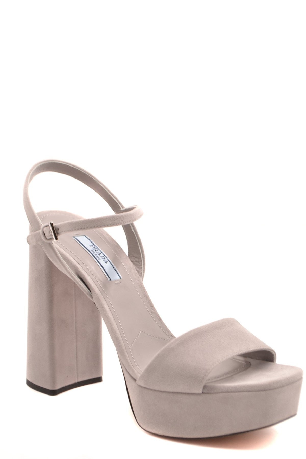 Shoes Prada-Women's Fashion - Women's Shoes - Women's Sandals-Product Details Terms: New With LabelMain Color: GrayType Of Accessory: ShoesSeason: Spring / SummerMade In: ItalyGender: WomanHeel'S Height: 12Size: EuComposition: Chamois 100%Year: 2020Manufacturer Part Number: 1Xp75A 008 F0424-Keyomi-Sook