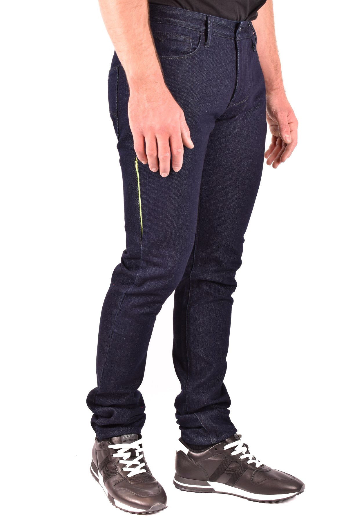 Jeans Emporio Armani-Men's Fashion - Men's Clothing - Jeans-Product Details Terms: New With LabelClothing Type: JeansMain Color: BlueSeason: Fall / WinterMade In: BulgariaGender: ManSize: UsComposition: Cotton 100%Year: 2019Manufacturer Part Number: 3H1J06 1D8Sz 0941-Keyomi-Sook