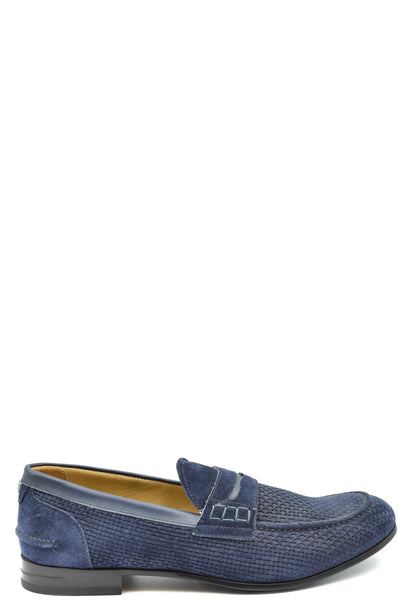 Shoes Brimarts-Men's Fashion - Men's Shoes - Loafers-43-Product Details Terms: New With LabelMain Color: BlueType Of Accessory: ShoesSeason: Fall / WinterMade In: ItalyGender: ManSize: EuComposition: Chamois 100%Year: 2019Manufacturer Part Number: 315190N-Keyomi-Sook