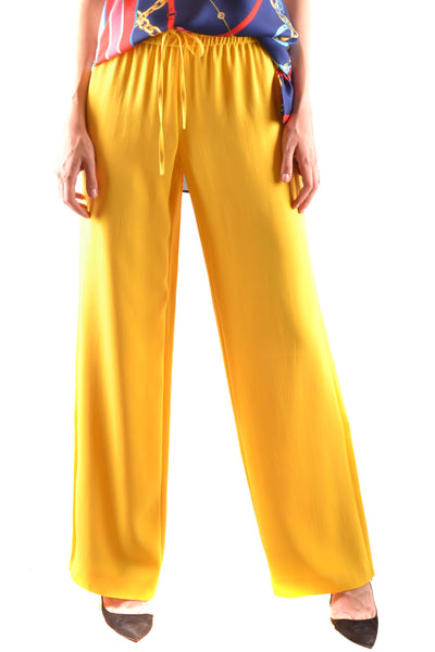 Trousers R.E.D. Valentino-Trousers - WOMAN-Product Details Terms: New With LabelYear: 2018Main Color: YellowGender: WomanMade In: RomaniaManufacturer Part Number: Pr3Rb125 3FpSize: ItSeason: Spring / SummerClothing Type: TrousersComposition: Acetate 74%, Viscose 26%-Keyomi-Sook