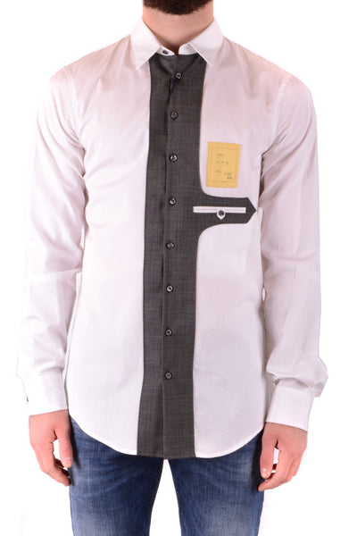 Shirt Dsquared-Shirts - MAN-Product Details Season: Spring / SummerTerms: New With LabelMain Color: WhiteGender: ManMade In: ItalyManufacturer Part Number: S71Dl051 S36275/010Size: ItYear: 2018Clothing Type: CamiciaComposition: Cotton 100%-Keyomi-Sook