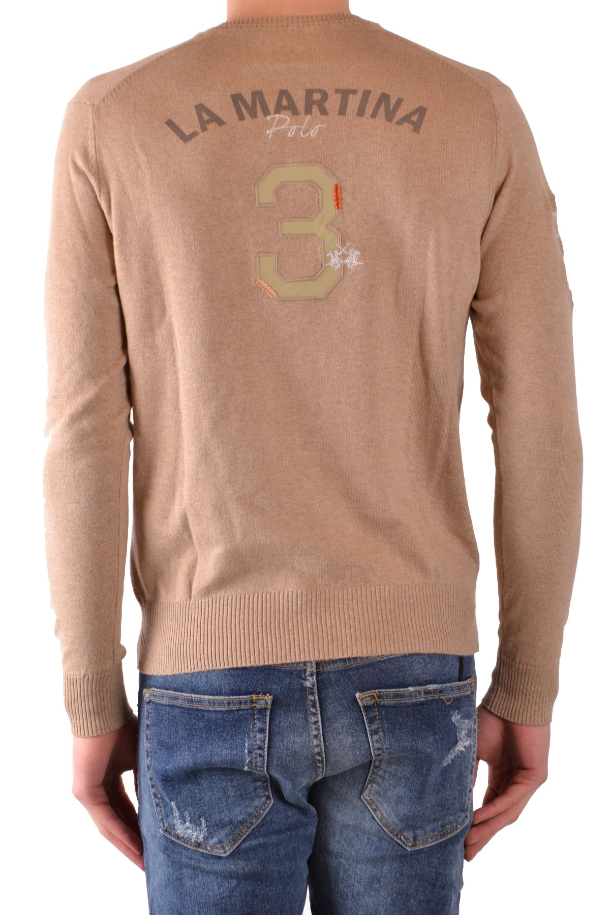 Sweater La Martina-Sweaters - MAN-Product Details Terms: New With LabelMain Color: MarrónGender: ManMade In: MauritiusManufacturer Part Number: Ams015Size: IntSeason: Fall / WinterClothing Type: Sweater And CardiganComposition: Cashmere 10%, Cotton 90%-Keyomi-Sook