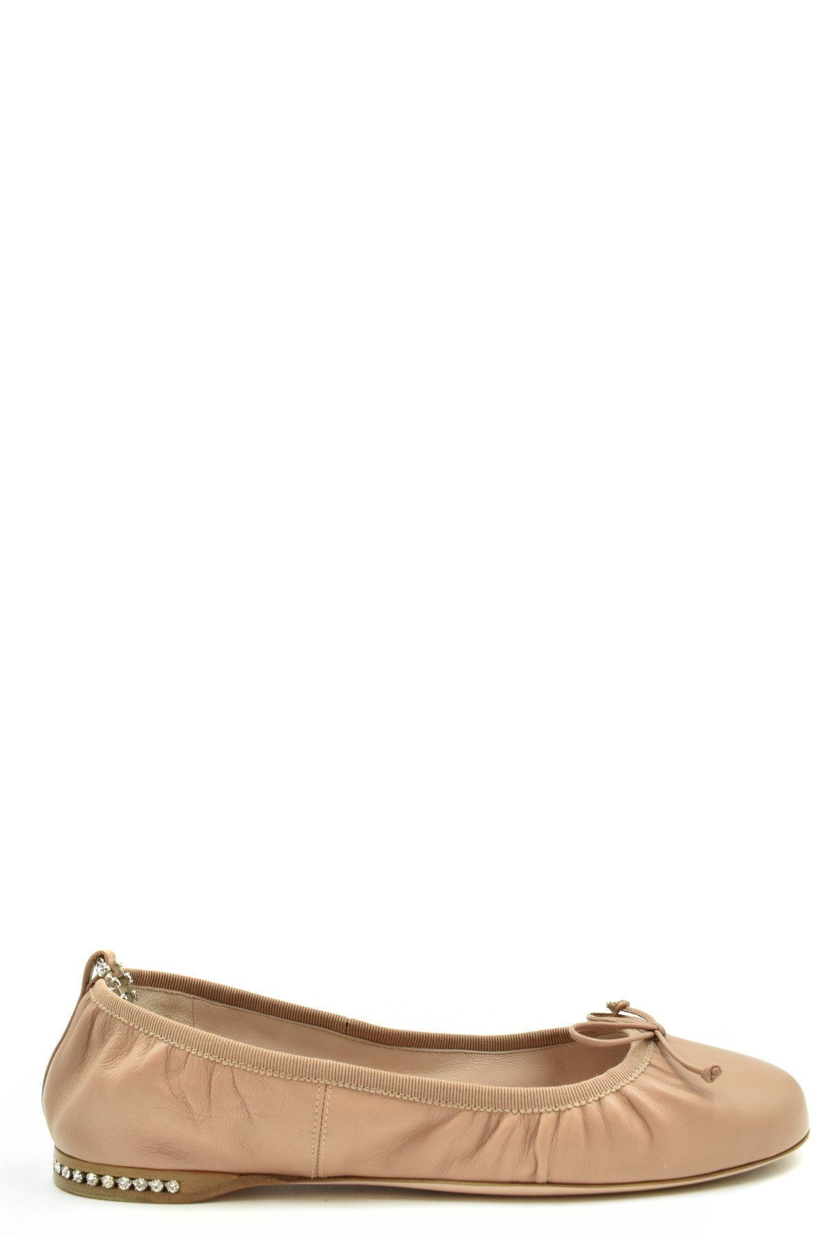 Shoes Miu Miu-Women's Fashion - Women's Shoes - Women's Flats-36-Product Details Terms: New With LabelMain Color: Antique PinkType Of Accessory: ShoesSeason: Spring / SummerMade In: ItalyGender: WomanSize: EuComposition: Leather 100%Year: 2020Manufacturer Part Number: 5F916C 038-Keyomi-Sook