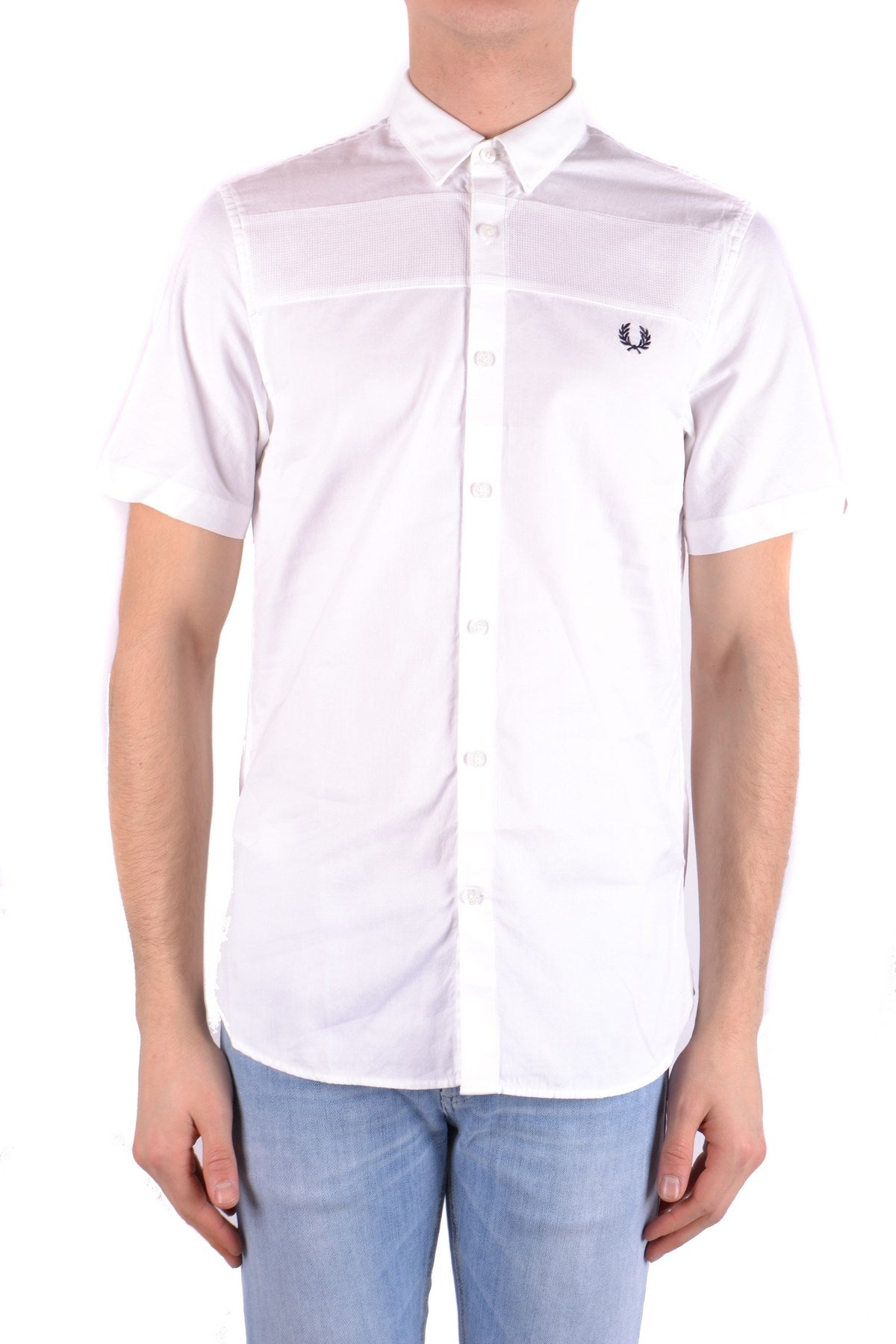 Shirt Fred Perry-Shirts - MAN-S-Product Details Terms: New With LabelYear: 2017Main Color: WhiteSeason: Spring / SummerMade In: ChinaManufacturer Part Number: M1540Size: IntGender: ManClothing Type: CamiciaComposition: Cotton 100%-Keyomi-Sook