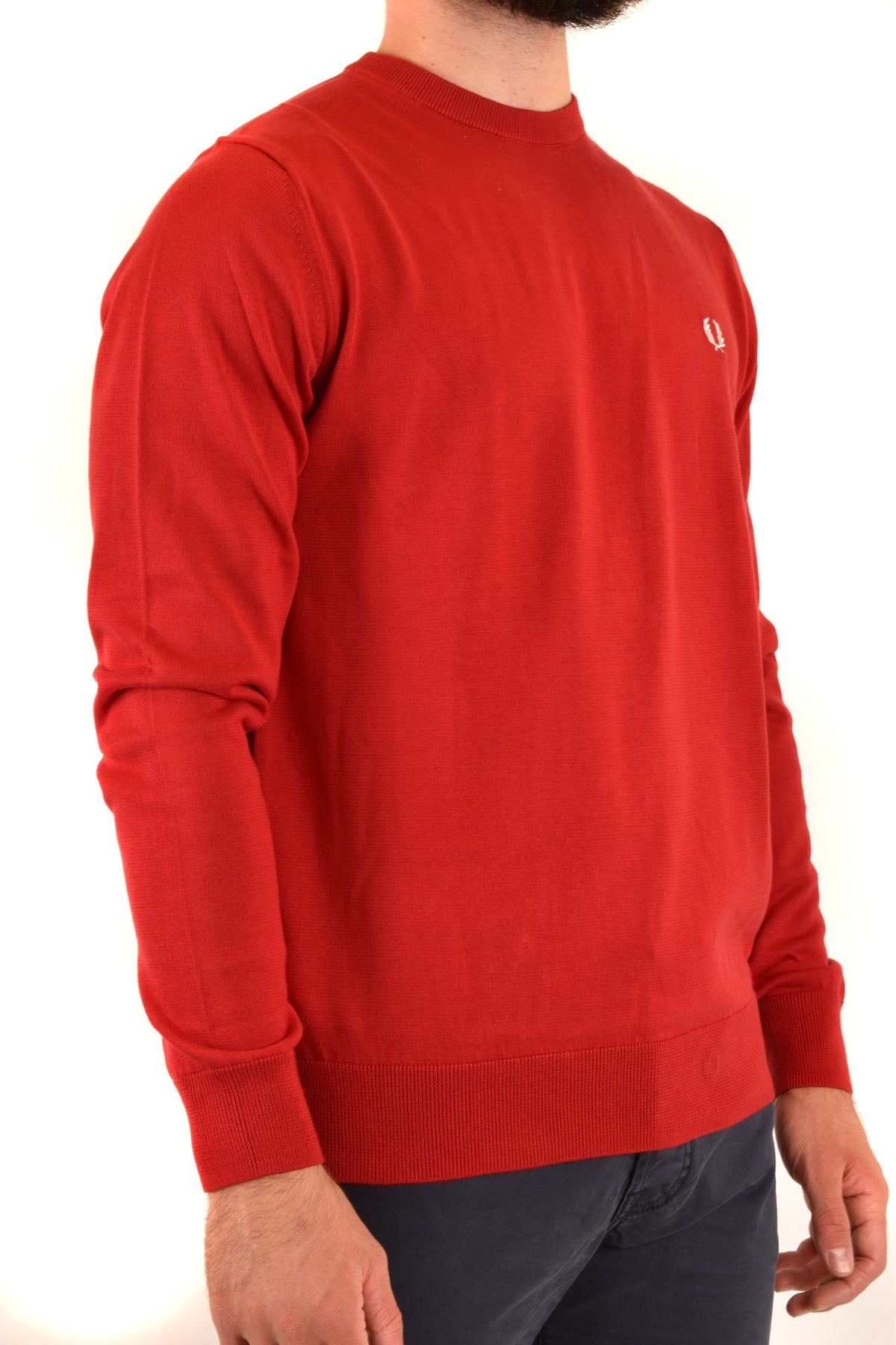 Sweater Fred Perry-Men's Fashion - Men's Clothing - Hoodies & Sweatshirts-Product Details Manufacturer Part Number: K5523 Col 401Year: 2020Composition: Cotton 100%Size: IntGender: ManMade In: ChinaSeason: Fall / WinterMain Color: RedClothing Type: Sweater Terms: New With Label-Keyomi-Sook