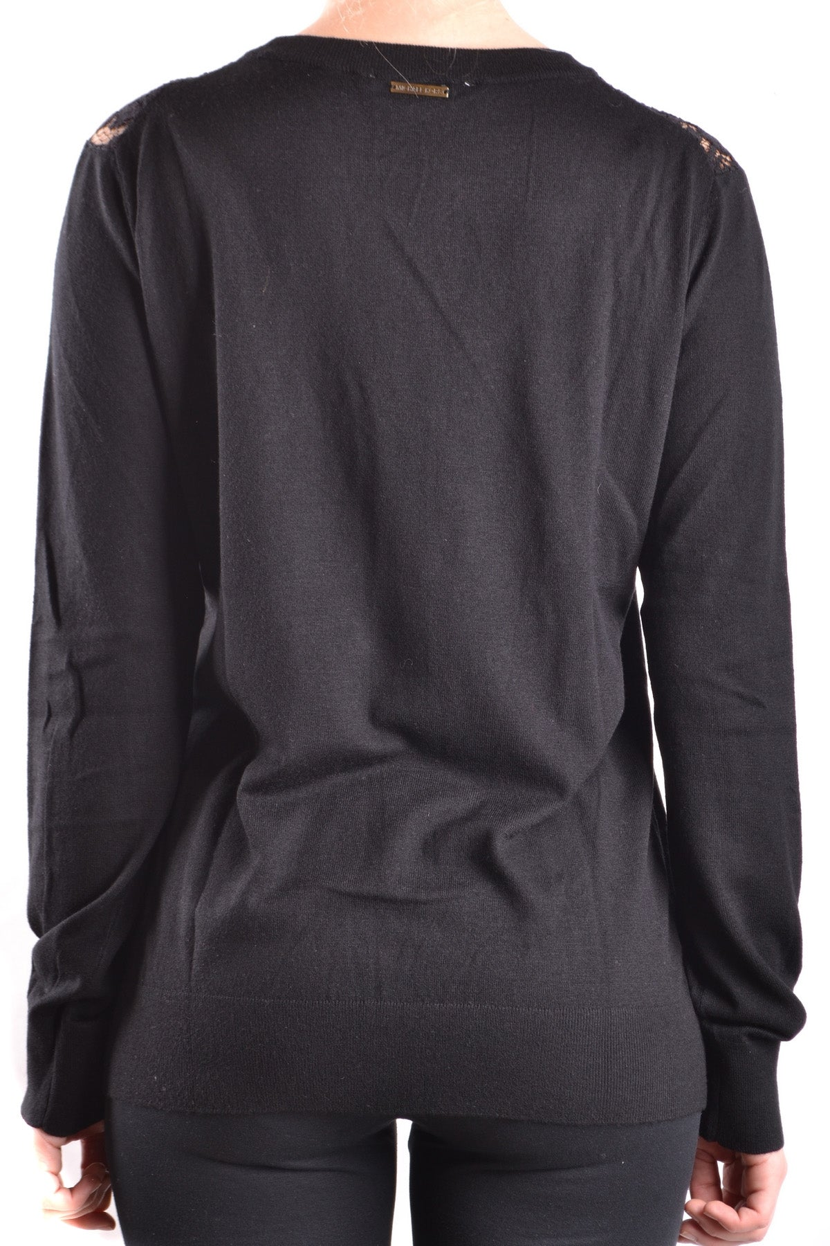 Tshirt Long Sleeves Michael Kors-Long sleeves - WOMAN-Product Details Terms: New With LabelYear: 2017Main Color: BlackGender: WomanMade In: ChinaSize: IntSeason: Fall / WinterClothing Type: Sweater Composition: Nylon 28%, Polyester 26%, Viscose 40%-Keyomi-Sook