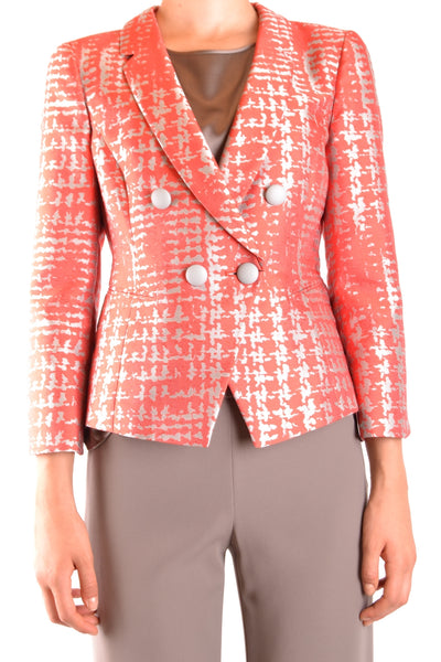Jacket Armani Collezioni-Jacket - WOMAN-40-Product Details Season: Spring / SummerTerms: New With LabelMain Color: CoralGender: WomanMade In: ItalyManufacturer Part Number: Vmg32T Vm103Size: ItYear: 2018Clothing Type: JacketComposition: Polyester 70%, Silk 30%-Keyomi-Sook