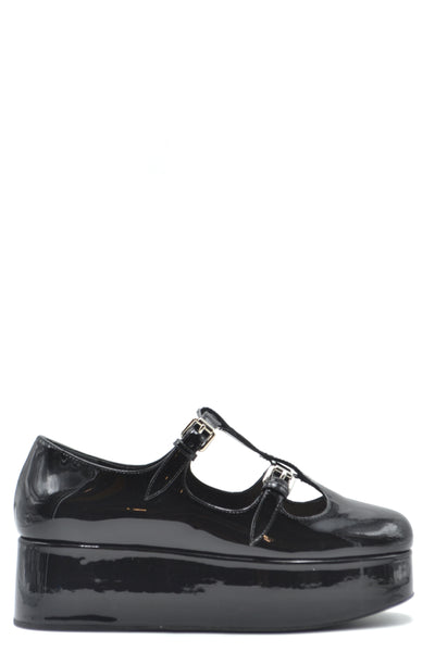 Shoes Miu Miu-root - Women - Shoes - Flats-Product Details Terms: New With LabelMain Color: BlackType Of Accessory: ShoesSeason: Spring / SummerMade In: ItalyGender: WomanSize: EuComposition: Leather 100%Year: 2020Manufacturer Part Number: 5F861C Xw1F0002-Keyomi-Sook