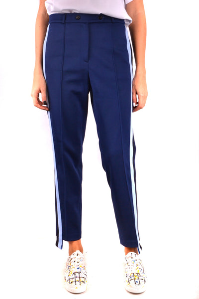 Trousers Golden Goose-root - Women - Apparel - Pants - Trousers-Product Details Terms: New With LabelClothing Type: TrousersMain Color: BlueSeason: Fall / WinterMade In: ItalyGender: WomanSize: IntComposition: Cotton 53%, Elastane 1%, Nylon 3%, Polyester 43%Year: 2018Manufacturer Part Number: G32Wp101/A2-Keyomi-Sook